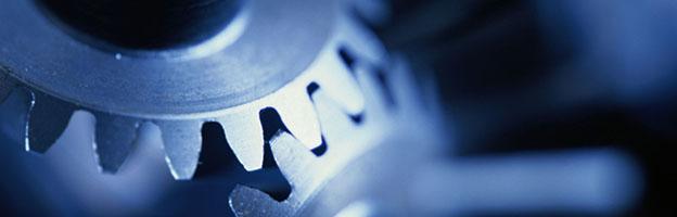Imagem de engrenagens como capa para Softwares