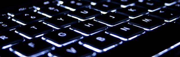 Imagem de um teclado para ser usada como capa para posts de programação