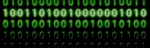 Imagem de zeros e uns para ser usada como capa para posts de programação
