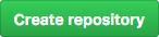 """Botão """"Create repository"""" no GitHub"""