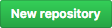 """Botão de """"New repository"""" no GitHub"""